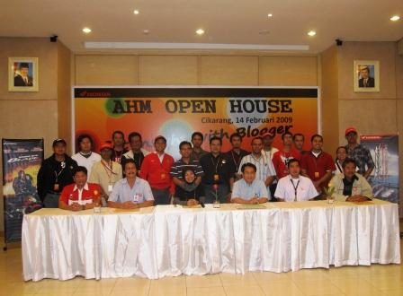 AHM Open House - Get Insight With Blogger 14 Feb 09, 3rd Plant Cikarang