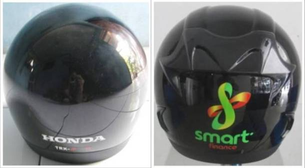 Gambar 3: Helm AHM vs BAJAJ (Back)
