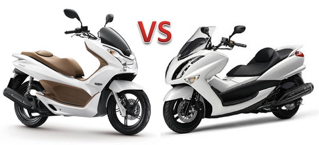 Honda Pcx Vs Yamaha Majesty Atau Cukup Mio Ajach Otomotoblog