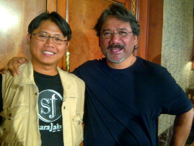 @BroArdy with Darwis Triadi