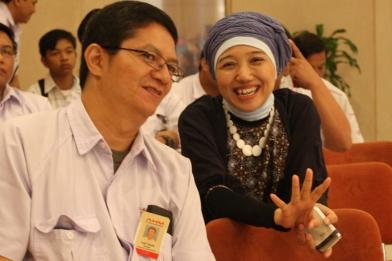 Ibu Istiyani dan Pak Yudi
